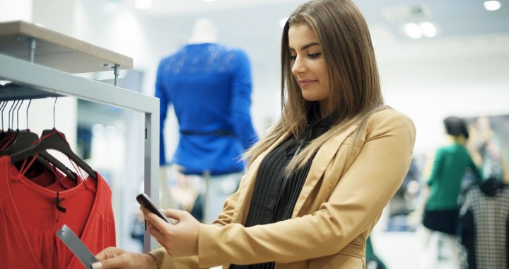 In Store Smartphone Shopping