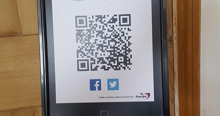 QR code to get voucher